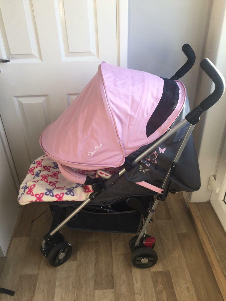 Pram Come Pushchair Silver Cross Pop Star Pushchair And Mothercare Footmuff