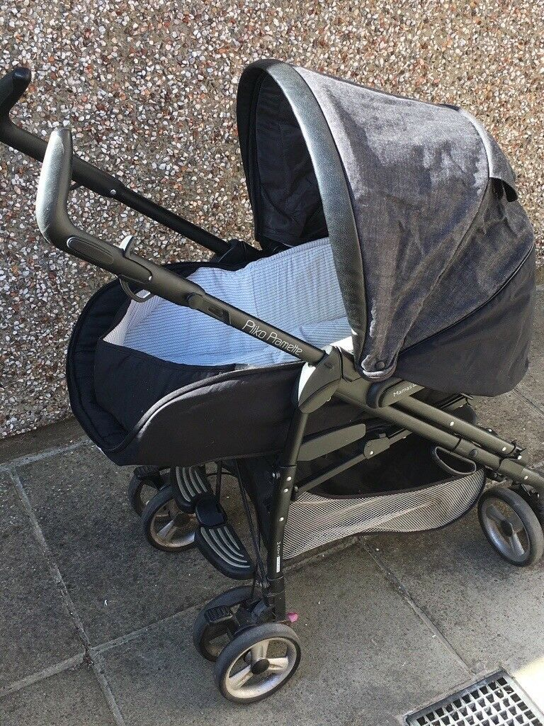 Double Pushchair With Buggy Board Mamas And Papas Pram For Sale Used But Still In Great