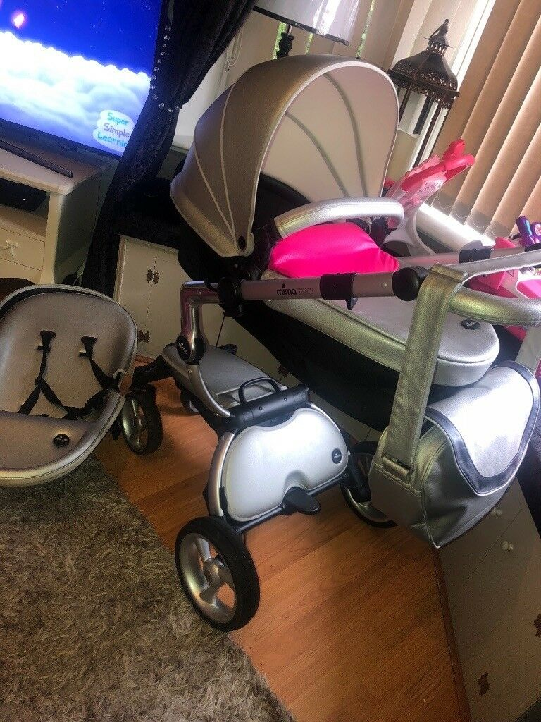 Mima Xari Pram Uk Silver Mima Xari Basically Brand New In Liverpool