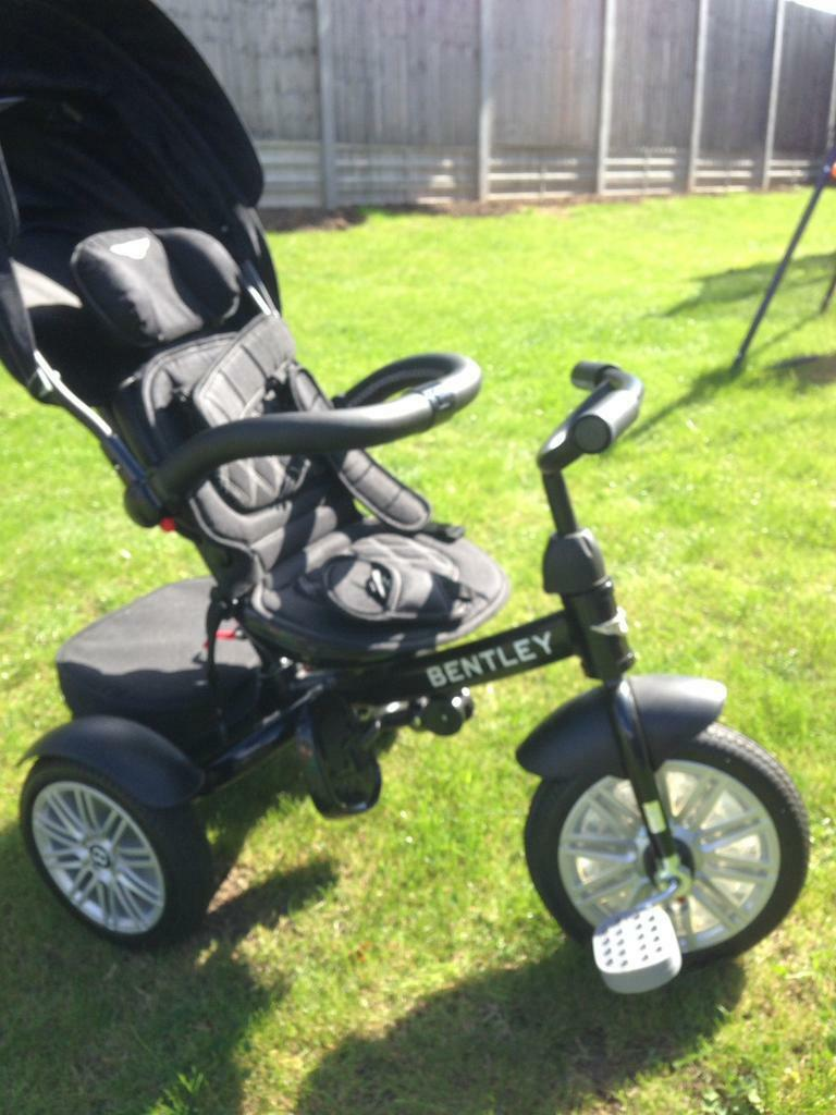 Bugaboo Donkey Duo V1 Bentley Toddler Tricycle 6 In 1 Air Wheel Children 39;s Buggy