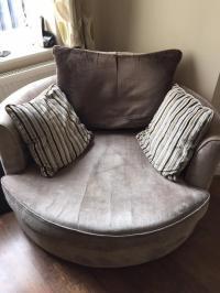 Sofa Portland Grey Large 3 Seater Sofa Portland Velvet ...