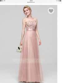 Brand new Bridesmaid dress - size 8 UK / dusty rose | in ...
