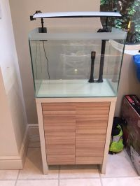 Fluval Fresh F60 Fish tank and cabinet with 206 pump and ...