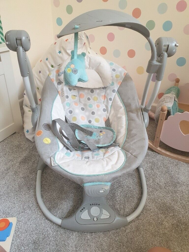Chicco Baby Toys Uk Ingenuity Baby Bouncer Convertme Swing 2 Seat In