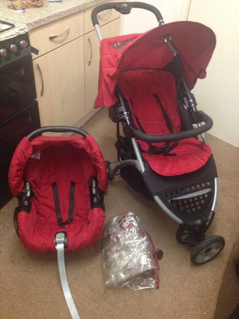 Mothercare Pushchair Pram Mothercare Vesta 3 Wheeler Travel System Pushchair Pram