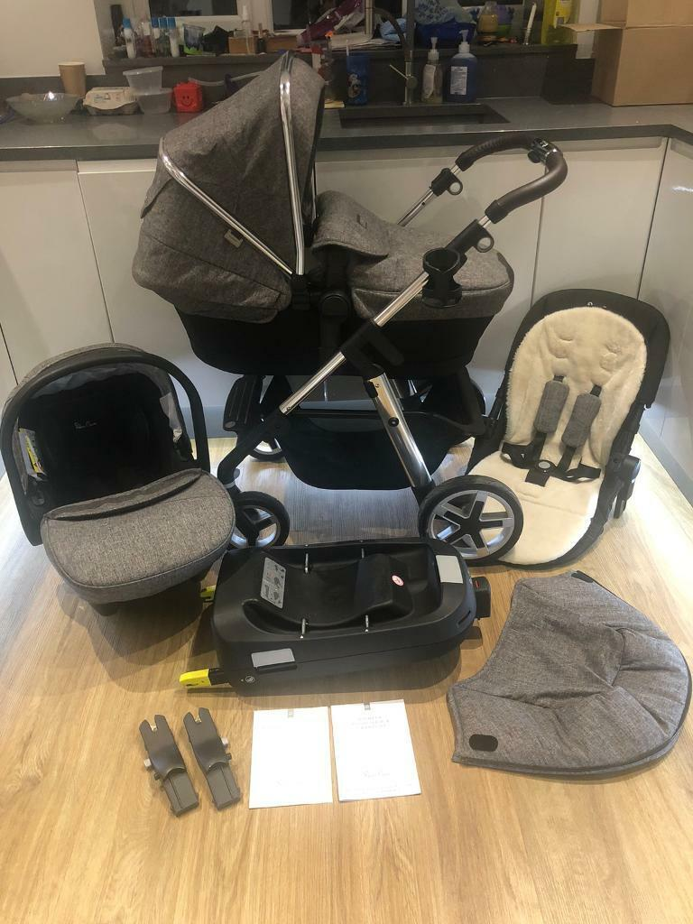 Babyzen Stroller Instructions Silver Cross Pioneer Brompton With Car Seat Isofix In