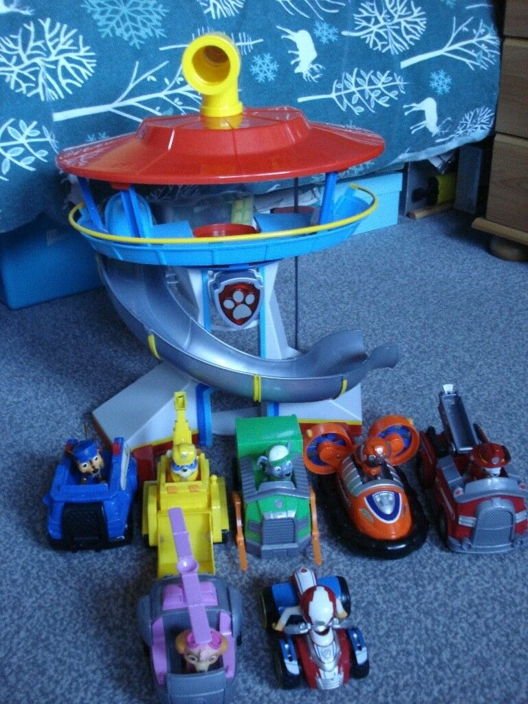 Baby Pram Edinburgh Paw Patrol Lookout Tower With Pups And Vehicles In South