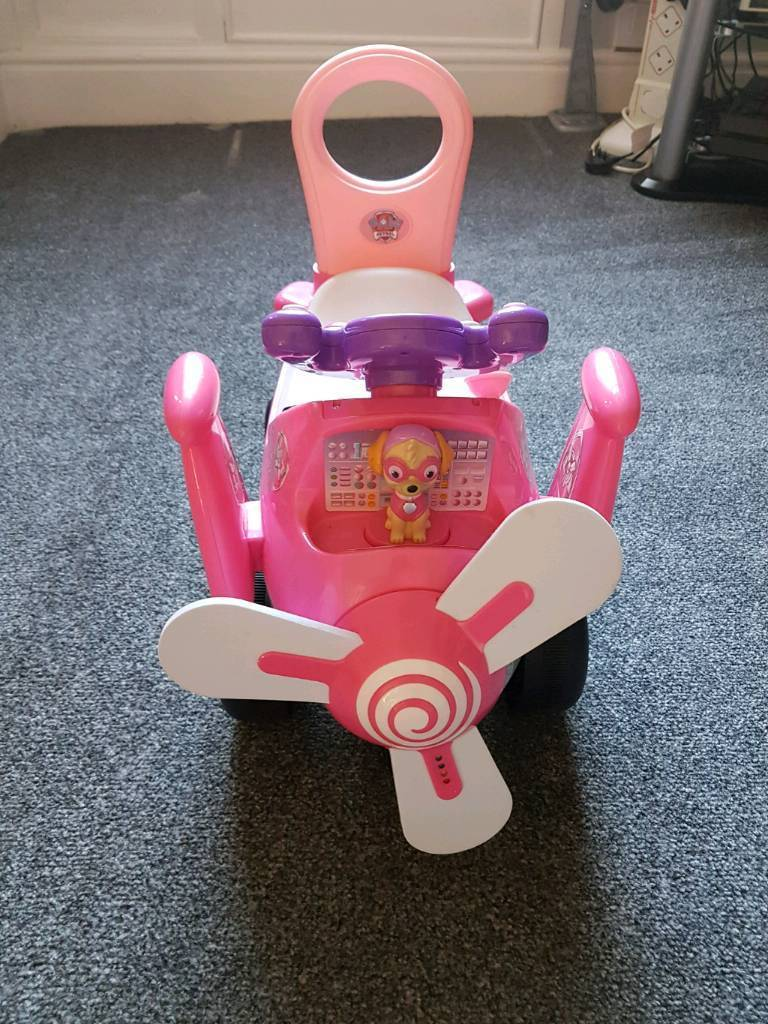 Baby Pram Edinburgh Paw Patrol Skye High Flyin Plane Ride On In Haslingden