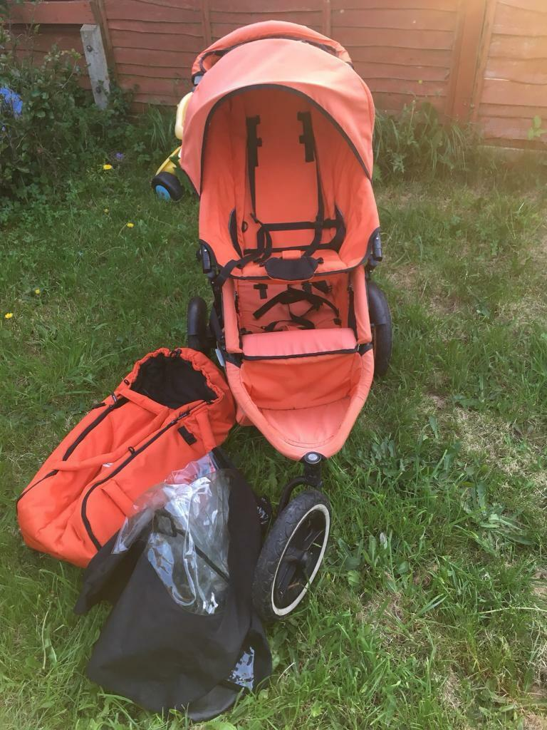 Egg Pram Mothercare Orange Phil And Teds Sport In Merstham Surrey Gumtree