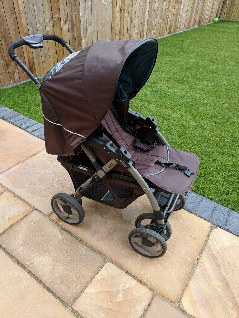 Double Pushchair With Buggy Board Free Mothercare Maxim Pushchair In Wollaton