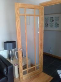 Glass Panelled Interior Pine door | in Newtownards, County ...