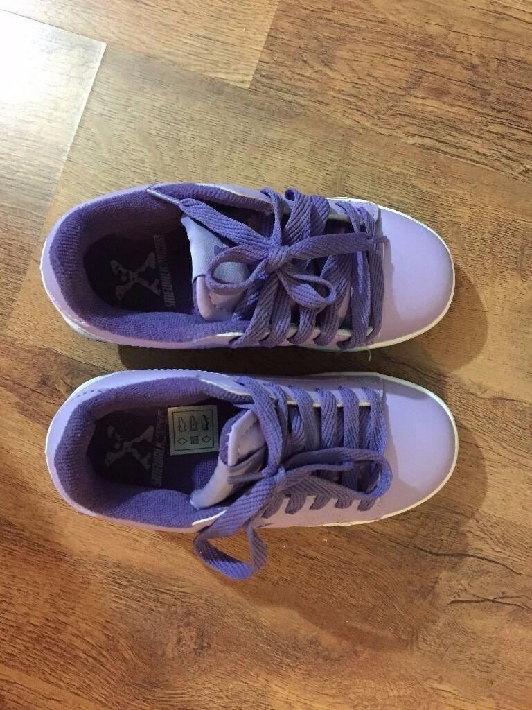 Skate shoes roller shoes of sidewalk brand size uk 12 used