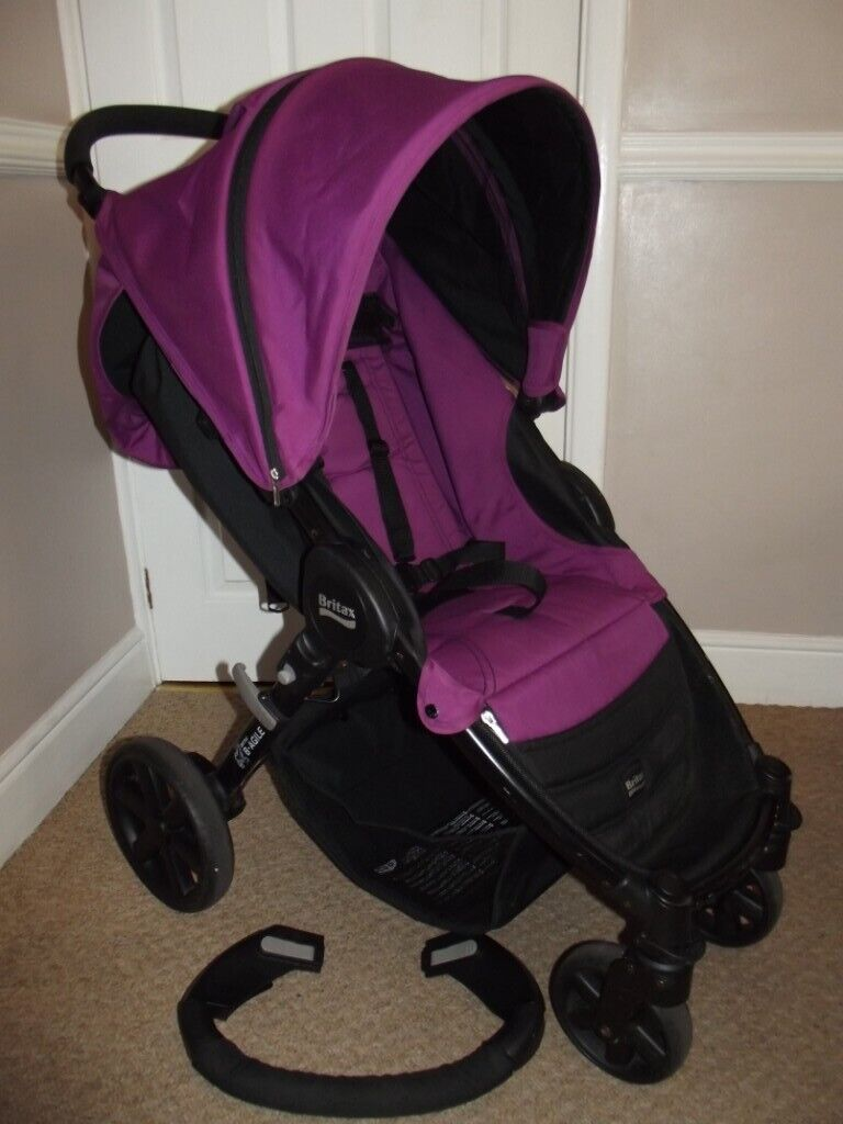 Travel System Pram Gumtree Britax Compact Fold Pushchair Buggy Stroller With Rain