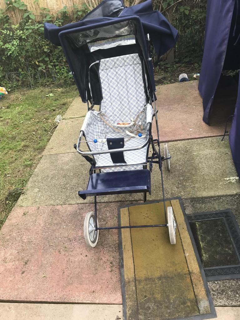 Baby Pushchair Leather Vintage Mothercare Pushchair 1980s In Bredbury