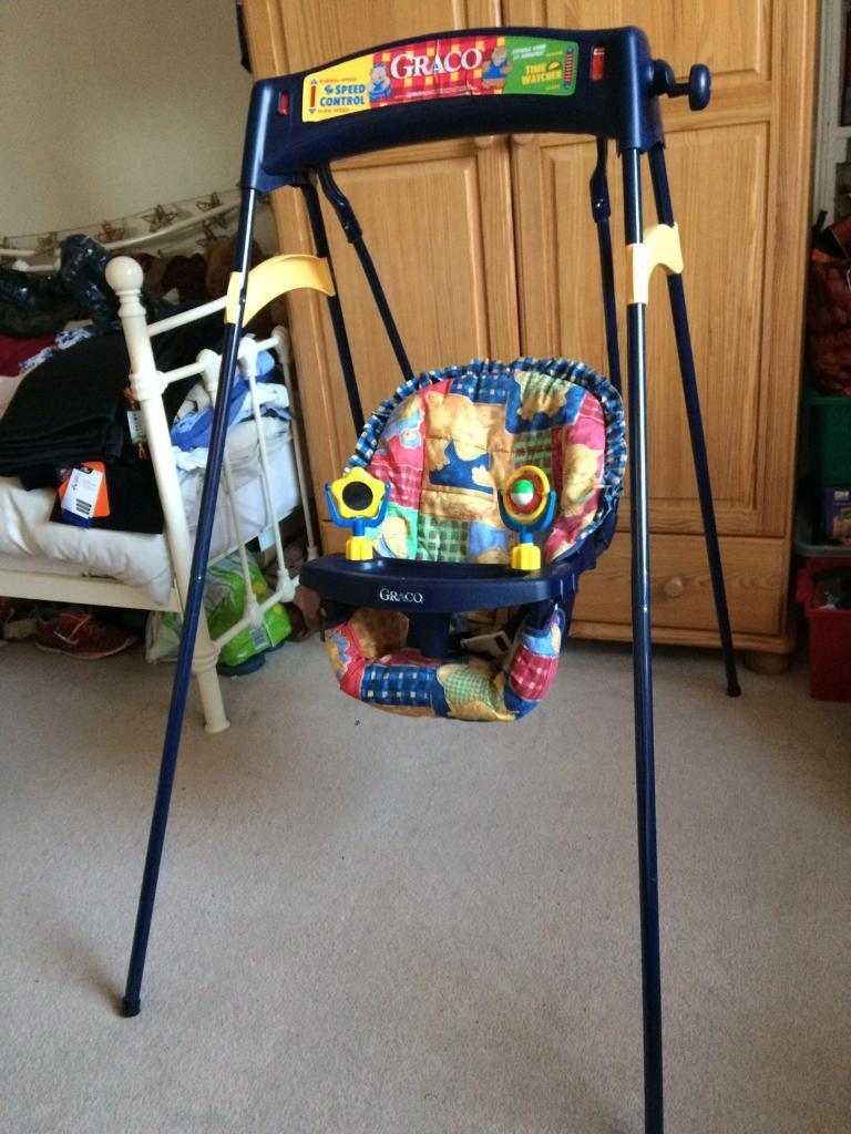 Joie Baby Bouncer Chair Graco Baby Swing Chair Windup Indoor In Dunfermline