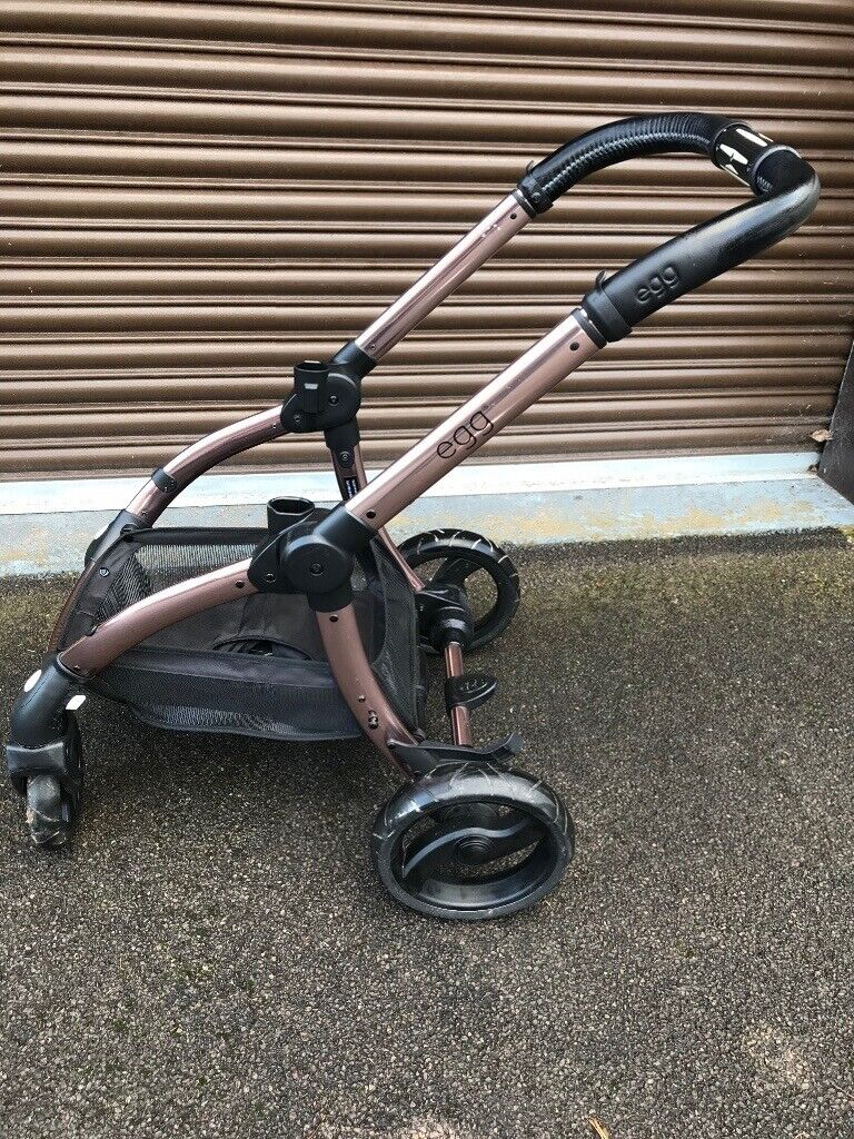 Egg Stroller Diamond Black Rose Gold Egg Pram Travel System With Carrycot Stroller And Other