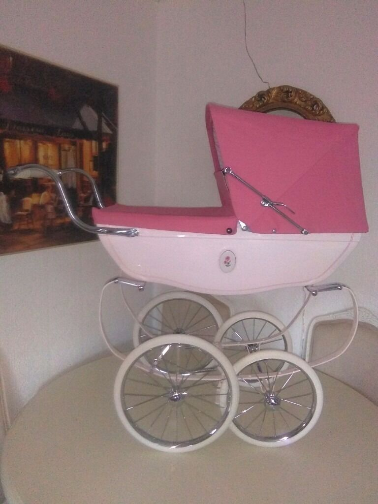 Baby Pram Edinburgh Ltd Edition Pink Silver Cross Dolls Pram In Ongar Essex