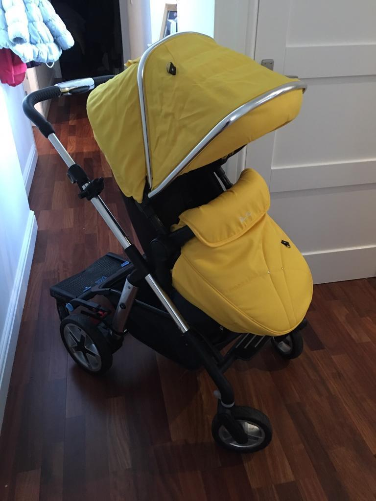 Mothercare Lightweight Pram Reduced Silver Cross Pioneer Pram Carrycot With Buggy