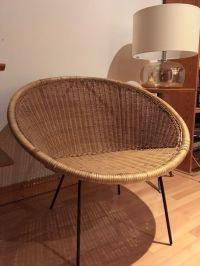 **SOLD**Vintage Retro Mid Century Rattan Cone Chair | in ...