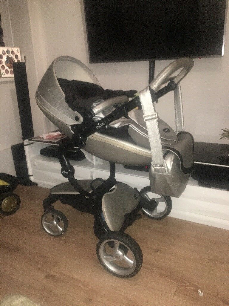 Bugaboo Grey Baby Bag Mima Xari In Silver In London Bridge London Gumtree