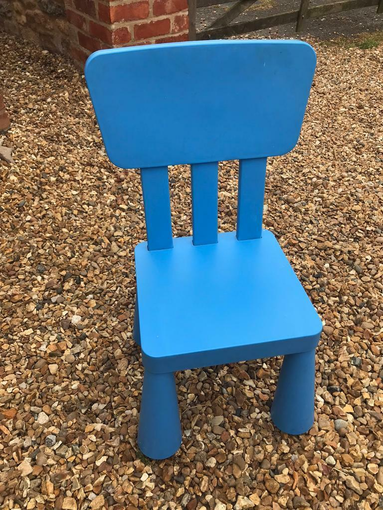 Joie Baby Bouncer Chair Ikea Mammut Childs Blue Chair Plastic In Oakham