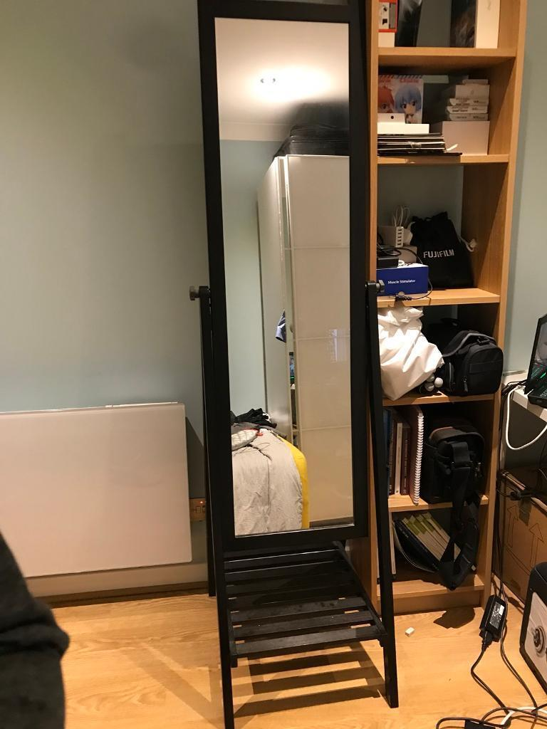 Large Mirrors Gumtree London Ikea Standing Mirror Isfjorden In Canary Wharf London