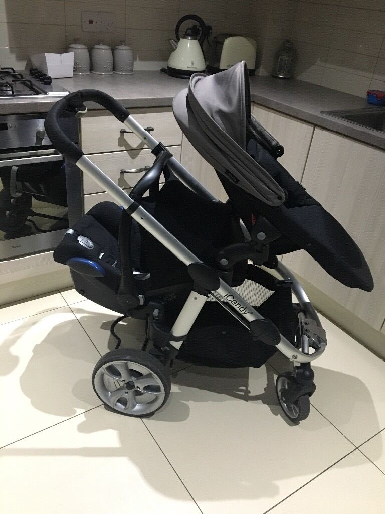 Baby Bee Pram Gumtree Icandy Apple 2 Pear Single To Double Pram In Ballymena