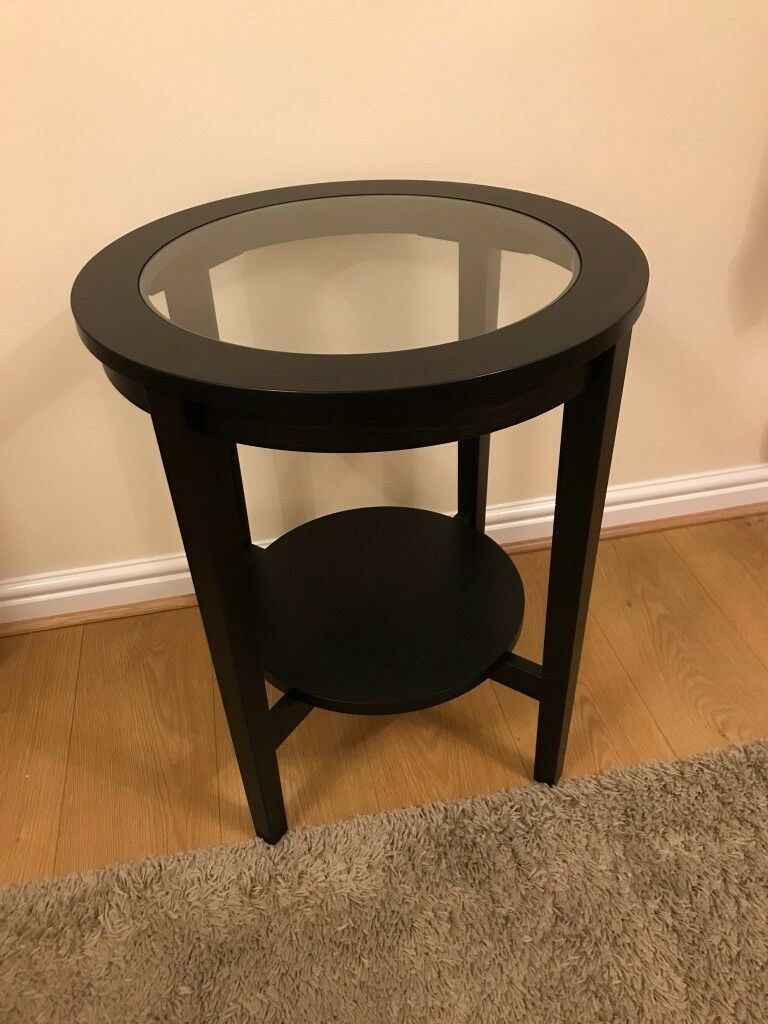 Ikea Malmsta Couchtisch Black Brown Coffee Table Qasync
