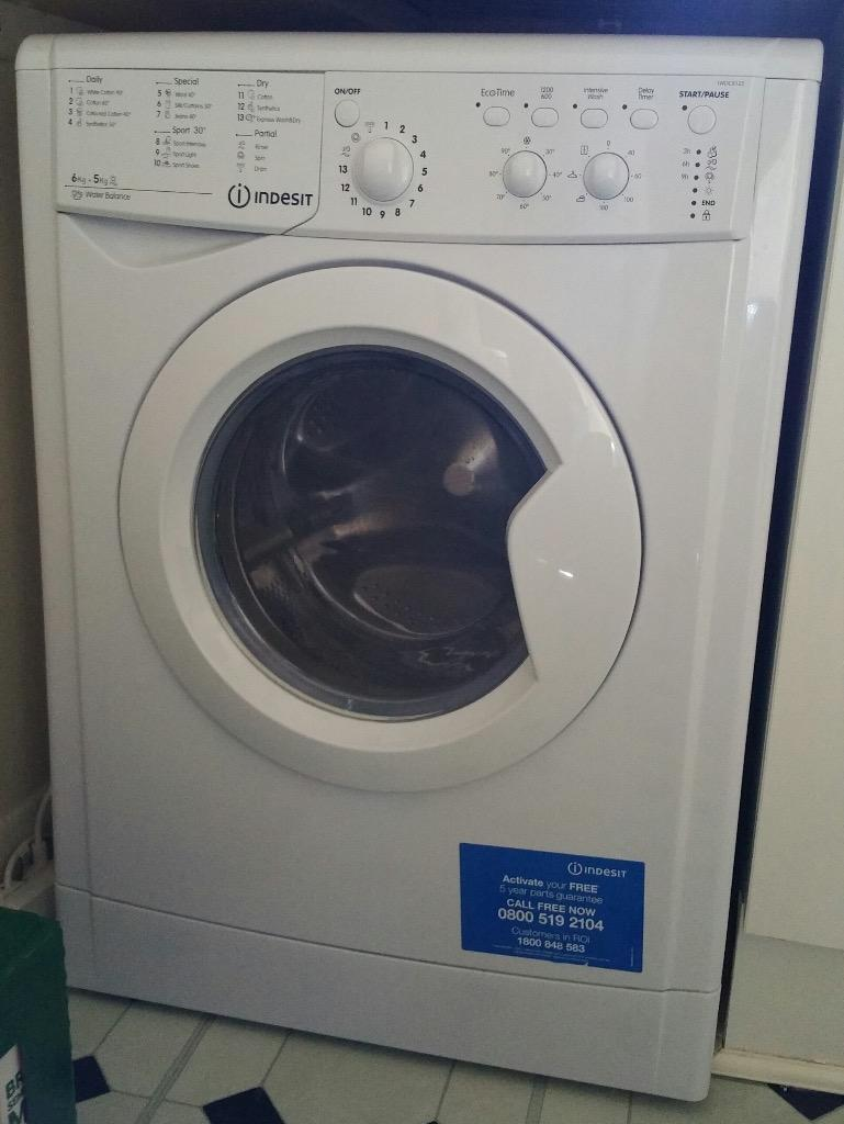 Indesit Iwdc 6125 Washer Dryer (indesit - Iwdc 6125 - White) ***almost New