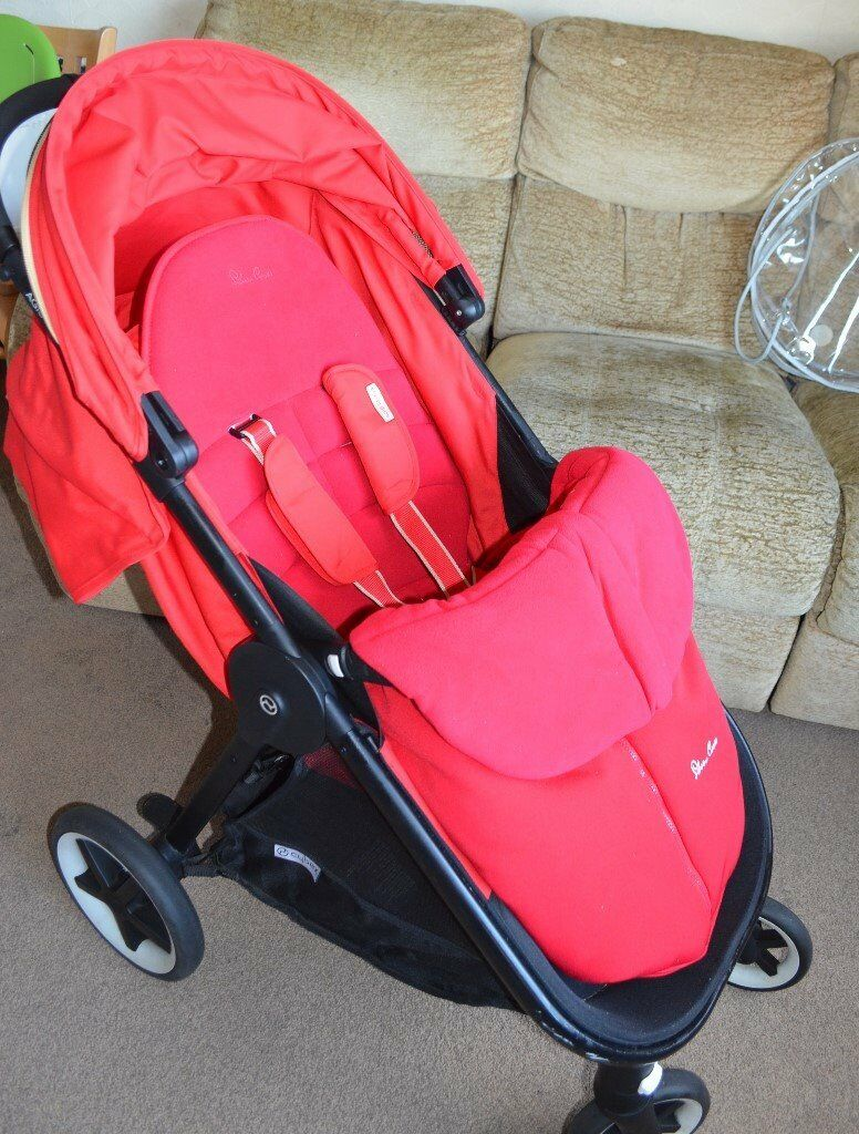 Cybex Stroller Gumtree Cybex Agis M Air 4 Red Gold Pushchair Buggy With