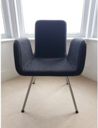 IKEA PATRIK desk/living room/office chair , Dark grey ...