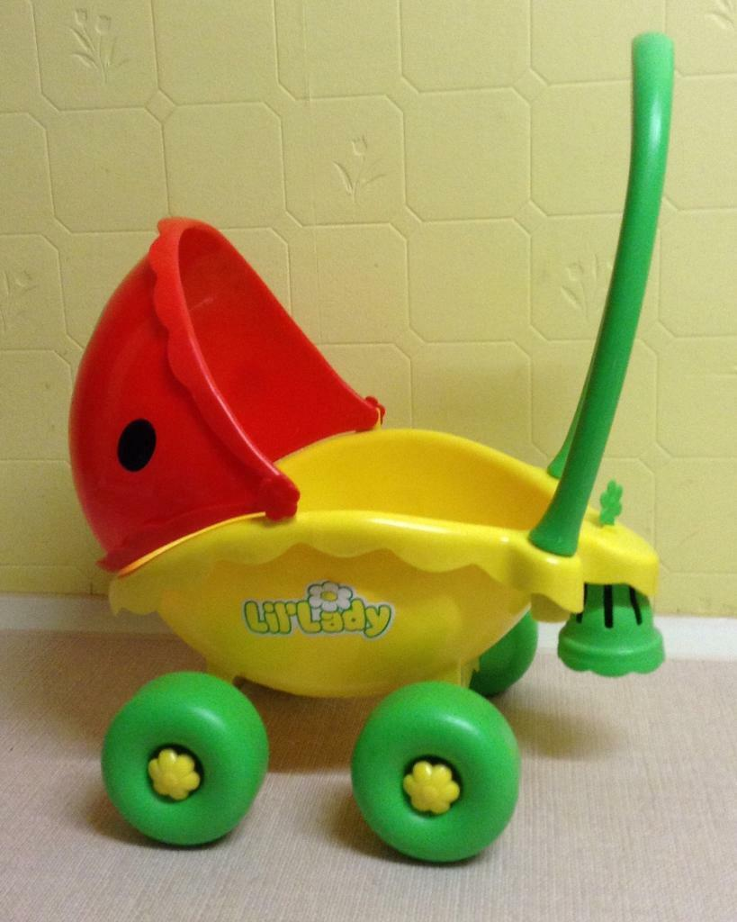 Silver Cross Buggy Toy Playskool Lil 39;lady Ladybird Pram In Milngavie Glasgow