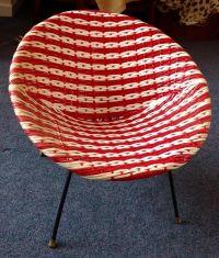 1960s Retro MID CENTURY Child's Chair Plastic Woven ...