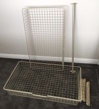IKEA Komplement 2 Wire Baskets Drawers 100cmx58cm fit Pax ...