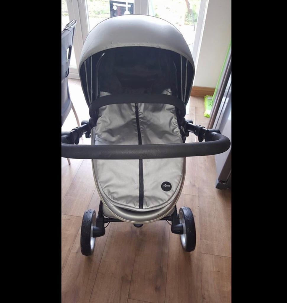 Mima Pram Used Mima Xari Pram In South Normanton Derbyshire Gumtree