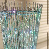 Beautiful Metallic SPIRAL FLOOR LAMP with 120 colour ...