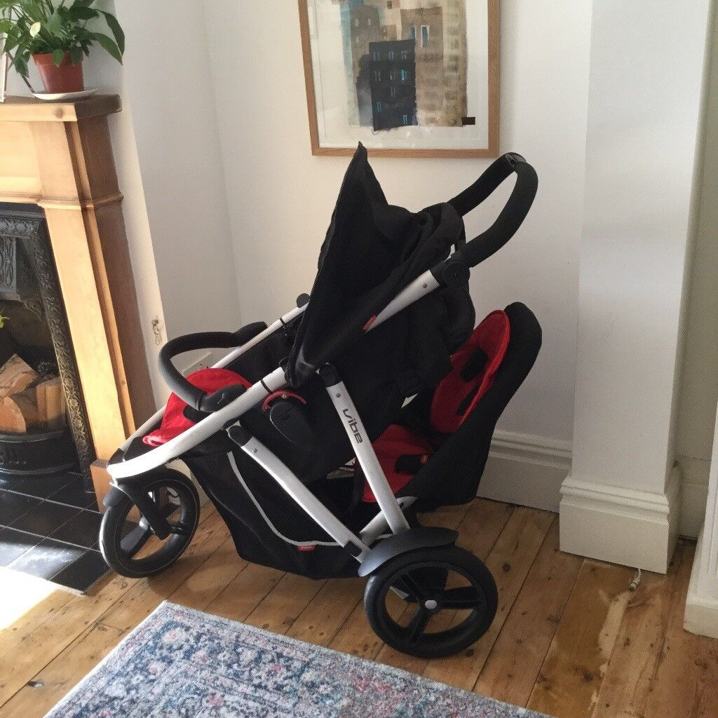Phil And Teds Double Buggy Vibe Phil Ted Vibe Double Buggy With Back Seat Coc Oon Rain Cover Pram Bag X1 New Tyre Inner Tube In Kettering Northamptonshire Gumtree