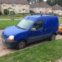 Renault Kangoo van 865d 1.9 diesel, roof rack, side & rear