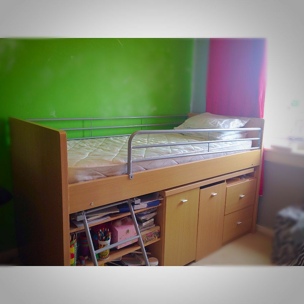 Cabin Bed With Pull Out Desk Dreams Mid Hampshire Cabin Sleeper With Pull Out Desk