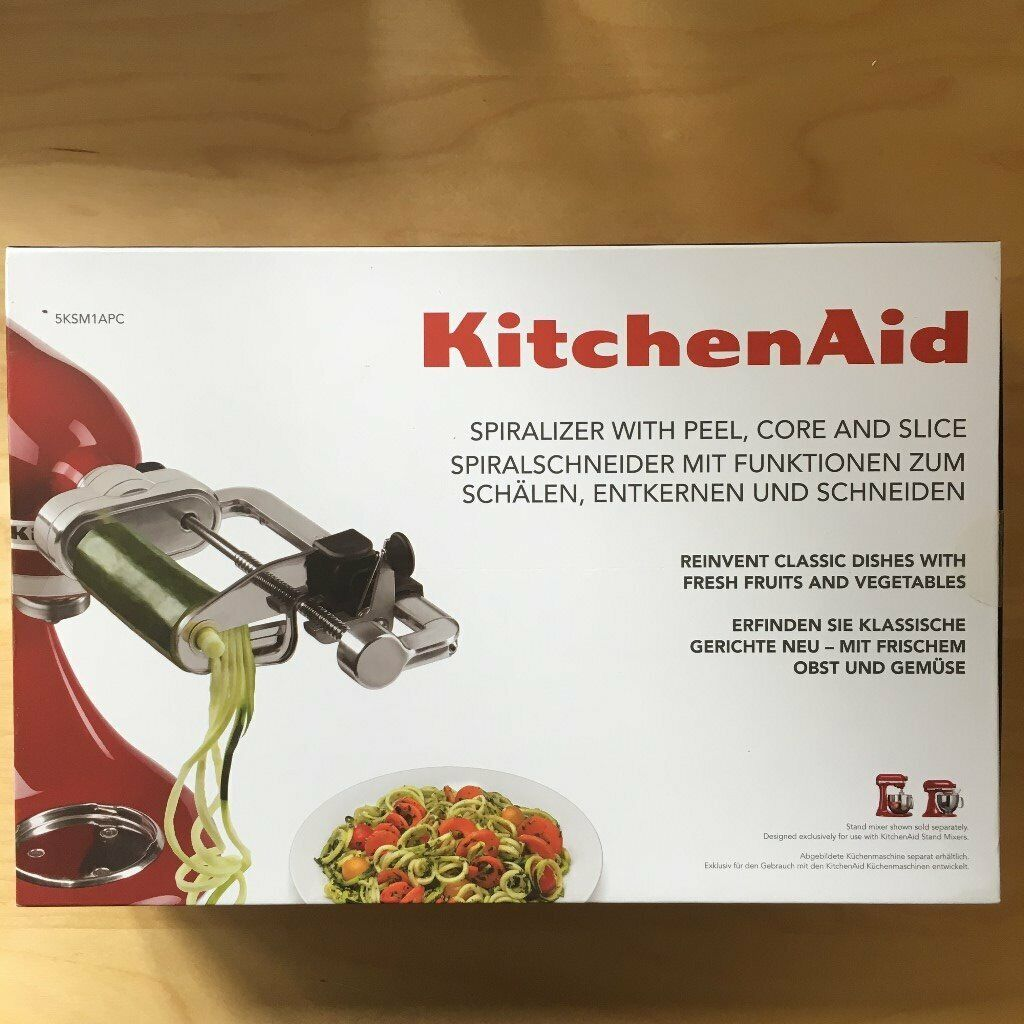 Küchenmaschine Bosch Vs Kitchenaid Kitchenaid Spiralizer Brand New Unopened Box In Oxshott Surrey Gumtree