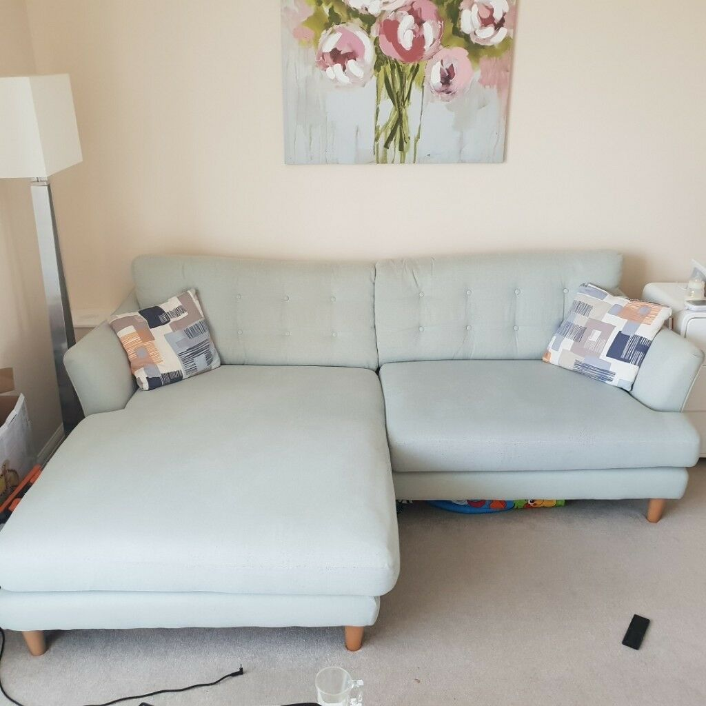 Big Sofa Osca Sofology Osca 4 Seater Sofa Chaise In Sensations Blue Mix In Bexley London Gumtree