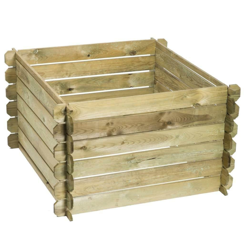 Compostbak Hout Nature Compostbak Hout 650 L