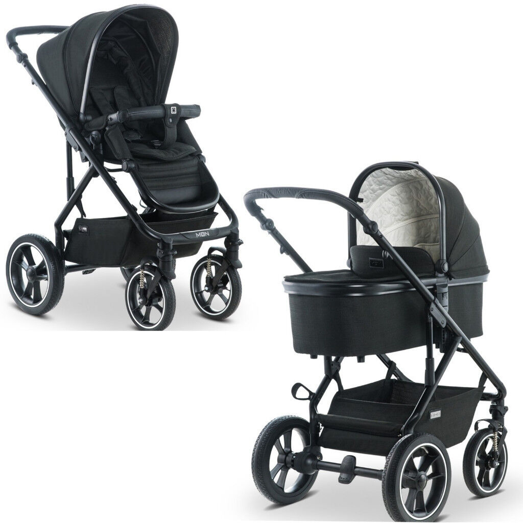 Buggy Board Moon Nuova New Moon Nuova 2019 City Pushchair 2in1 Pram Stroller Buggy In Black Retail Over 500 In Redhill Surrey Gumtree