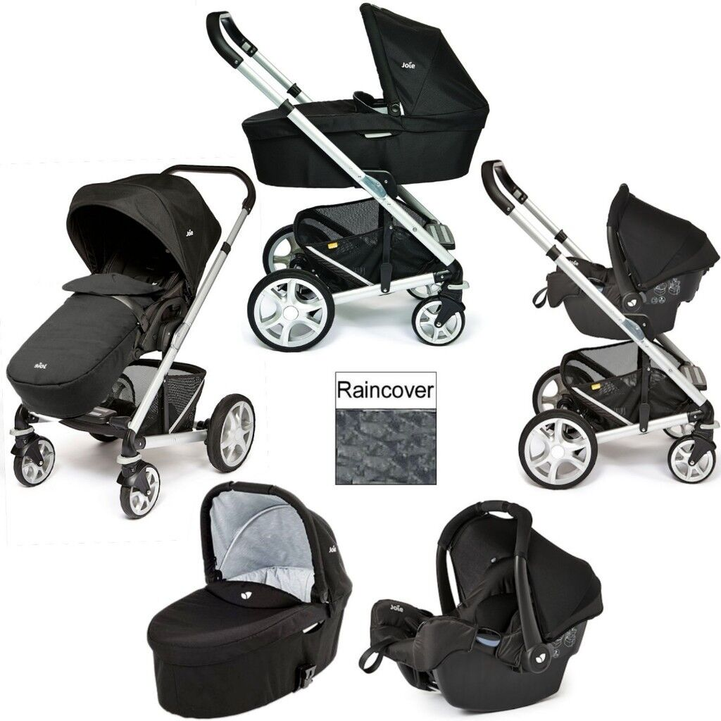 Travel System Joie Chrome Joie Chrome Plus Silver Travel System Carrycot Black Carbon 150 In Slough Berkshire Gumtree