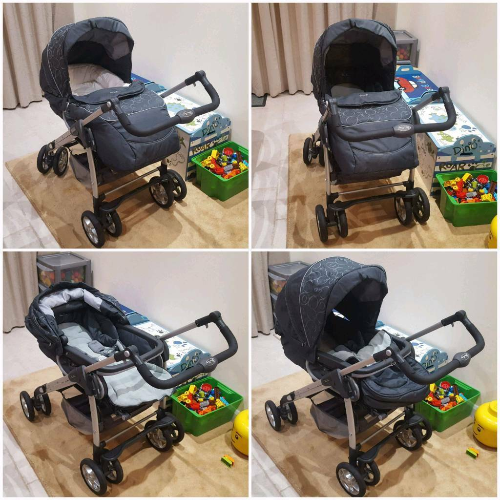 Silver Cross Linear Freeway Pushchair Silvercross Pram Travel System With Car Seat In