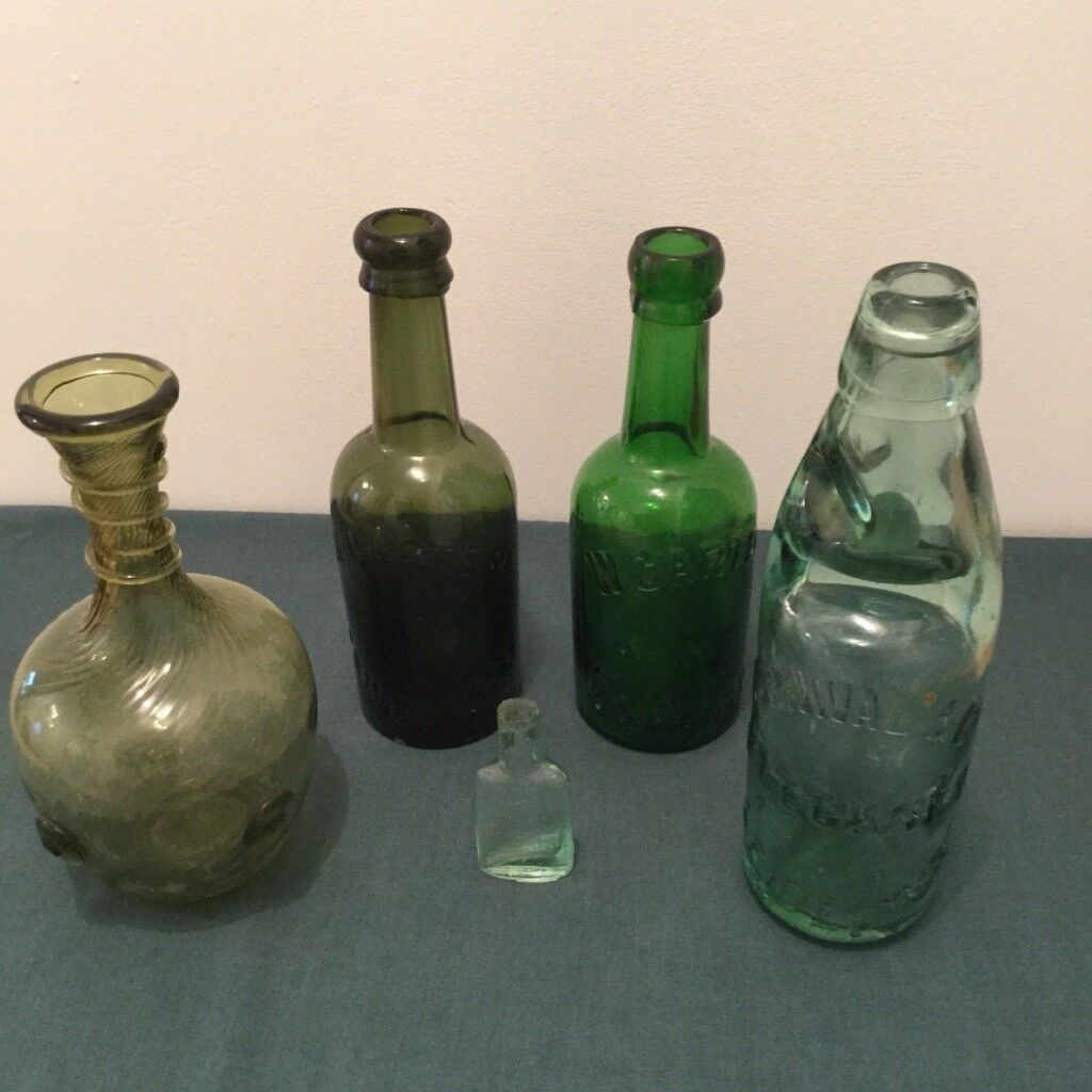 Interesting Bottles A Selection Of Old And Interesting Glass Bottles In Oswestry Shropshire Gumtree