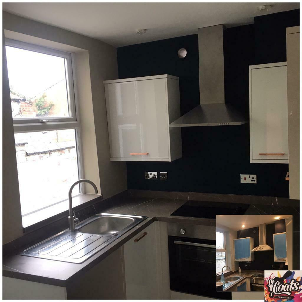 Kitchen Cupboard Painters Leicestershire Dr Coats Painter Decorator Professionals In Loughborough
