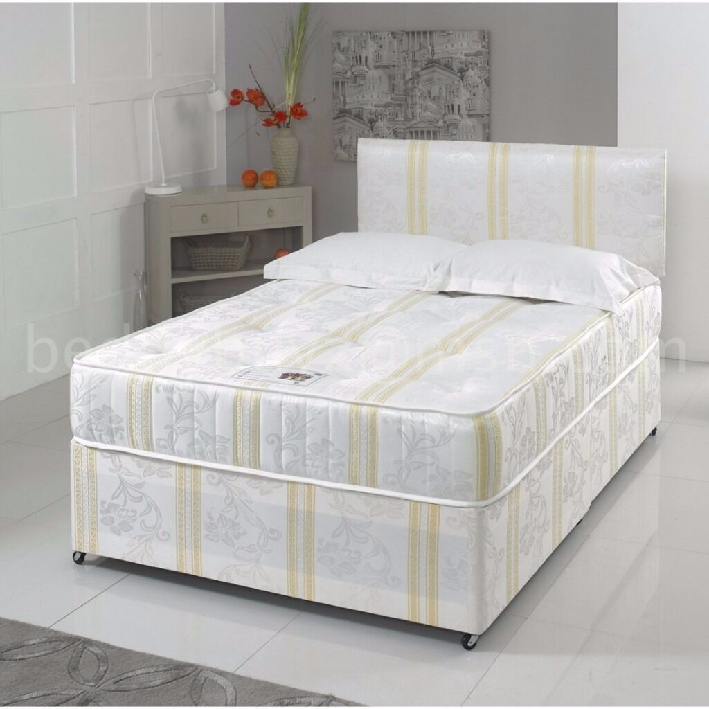 Double Bed 100 100 Guaranteed Price Brand New Divan Double Bed With Full Orthopaedic Mattress Expres Delivery In Islington London Gumtree