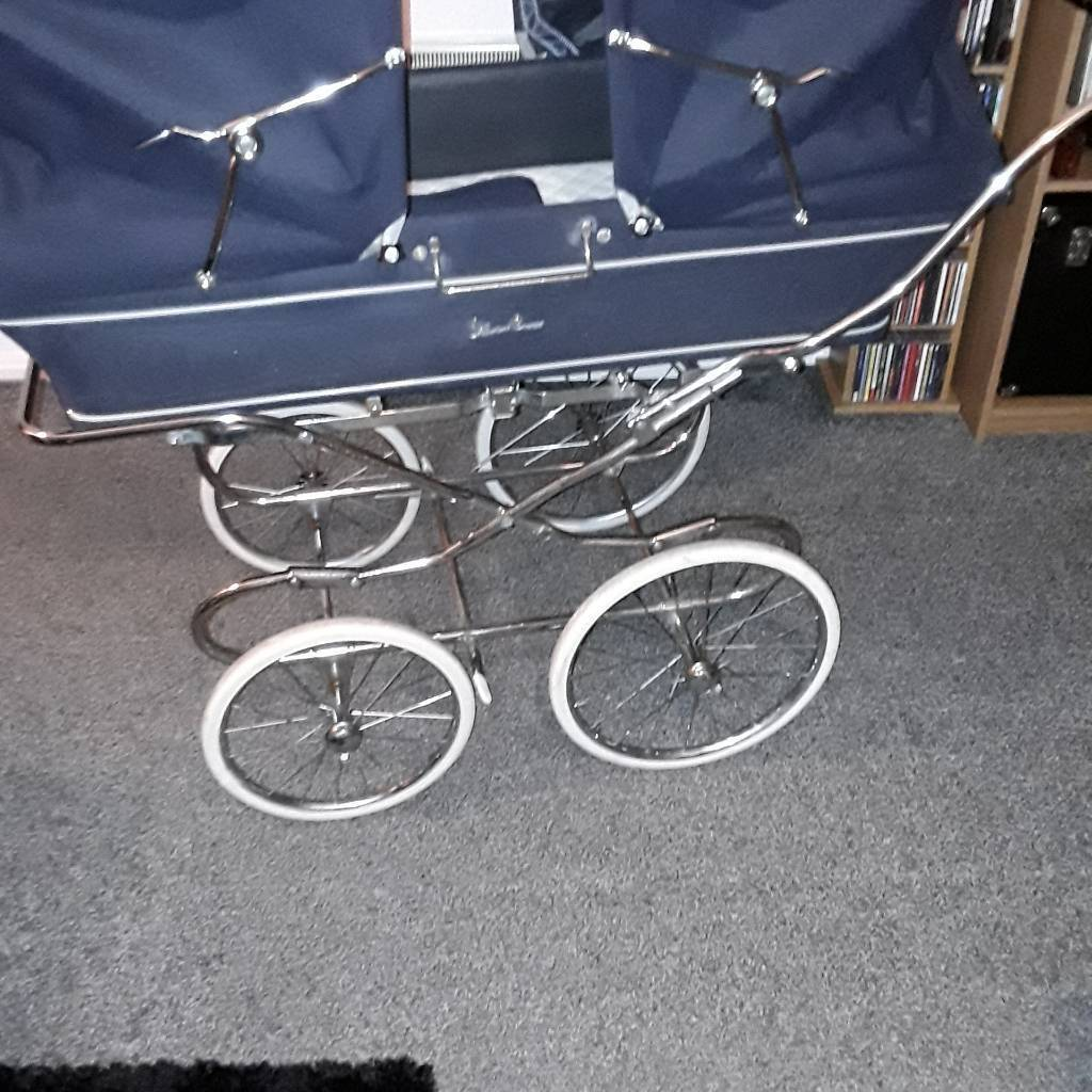 Mountain Buggy Duet Parent Facing Vintage Twin Silvercross Babies Pram In Newcastle Tyne