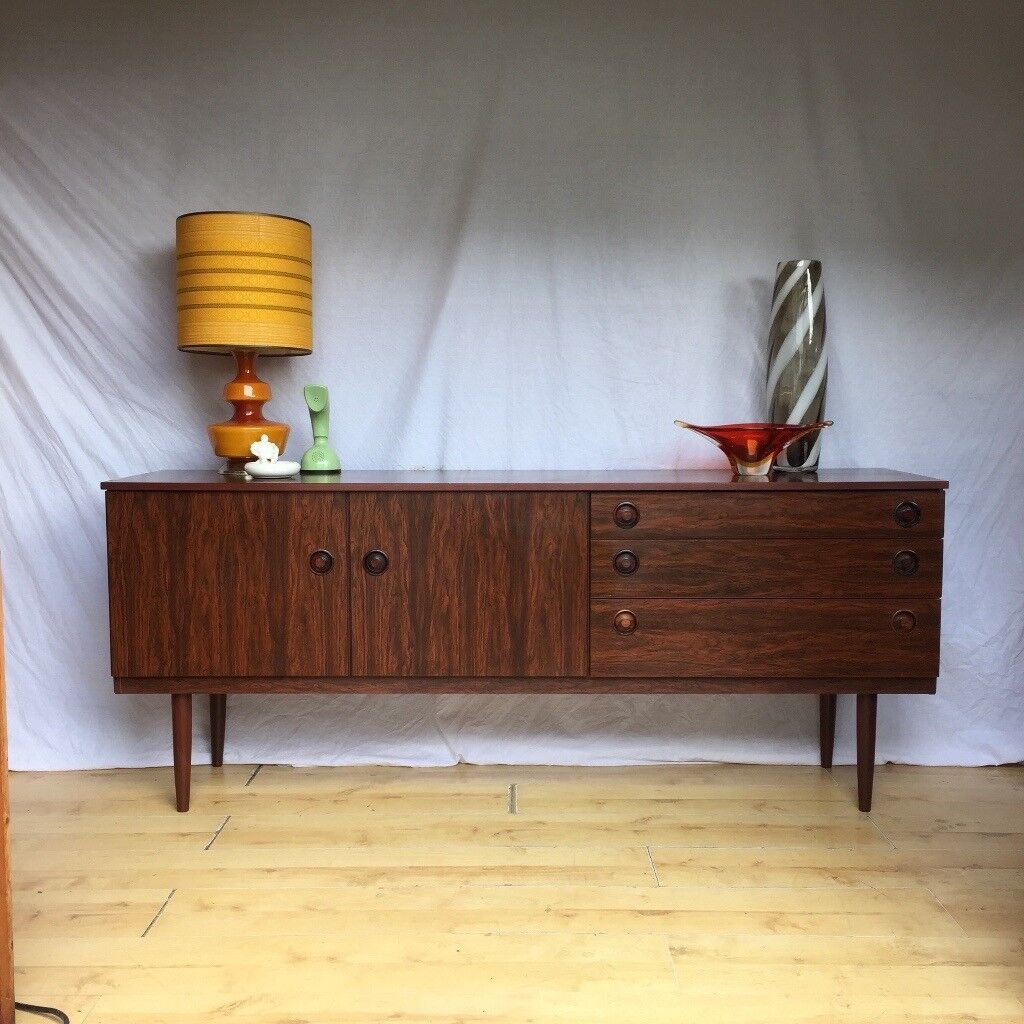 Vintage Rosewood Sideboard Vintage Greaves And Thomas Rosewood Sideboard Mid Century 1960s 1970s In Croydon London Gumtree